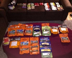 Kalorier til Ecuador
