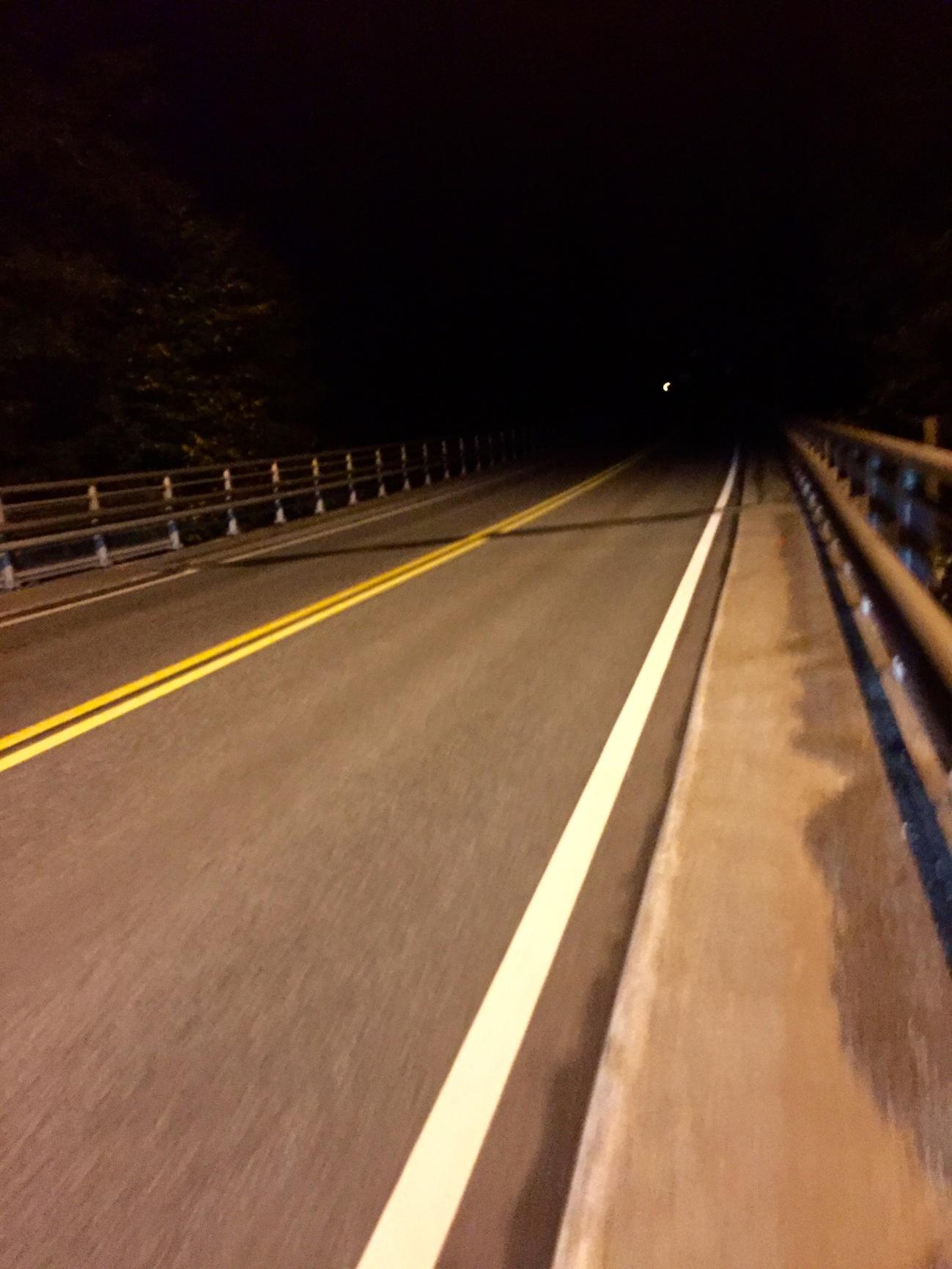 Lørdags natt på veien og neste alene
