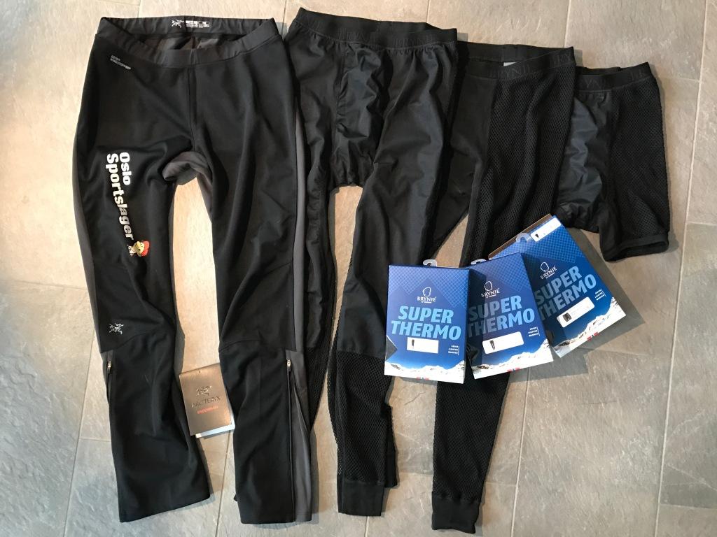 Antarktis - benklær