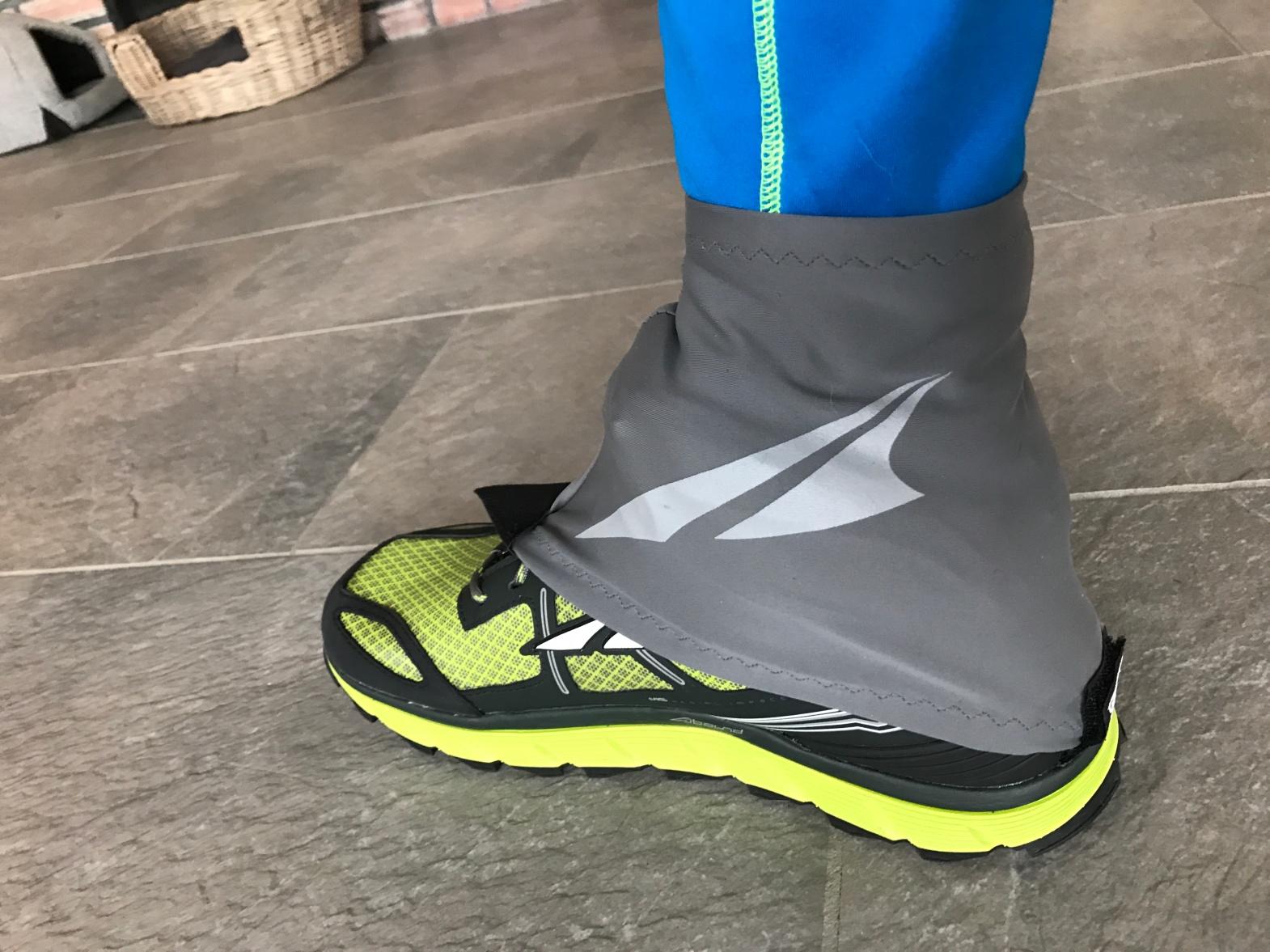 """Lette, tynne og god montering på Altra eller andre løpesko med borrelås bak. Ikke egnet for """"røff"""" snø."""