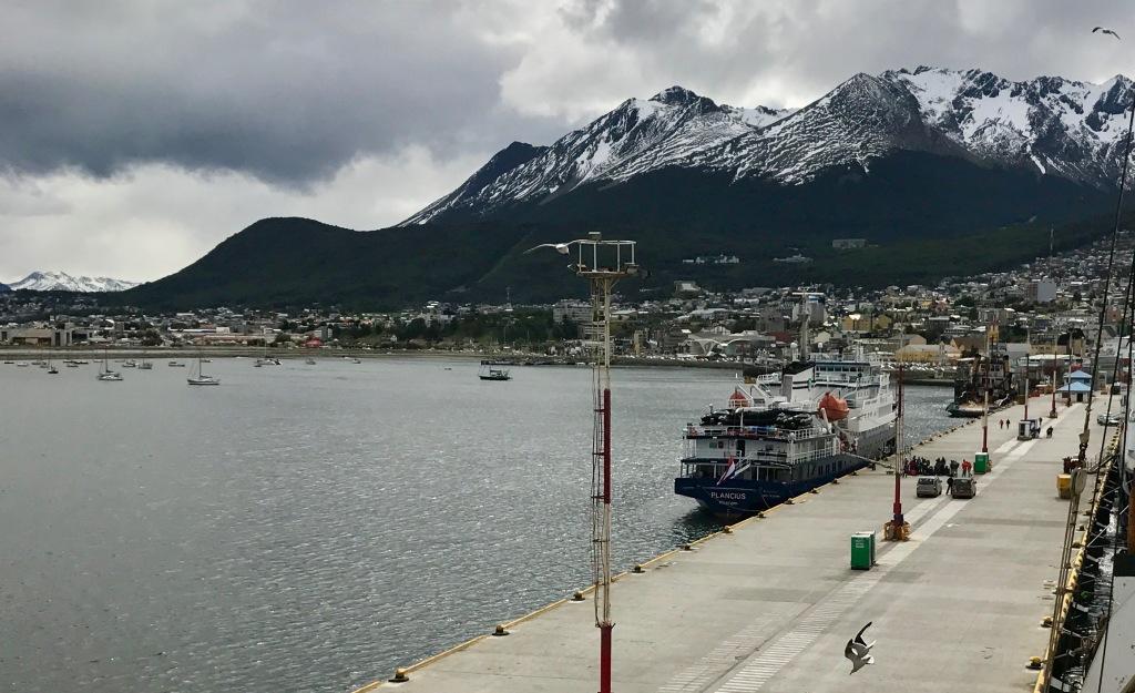 Ekspedisjonsskipet MV Plancius, Ushuaia