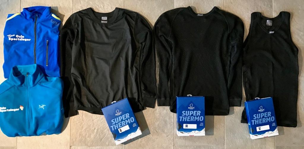 Antarktis - klær til overkropp